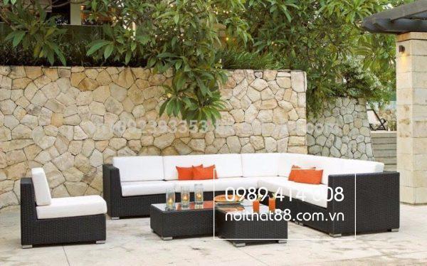 Bàn ghế sân vườn giả mây - Chất liệu tuyệt vời cho cuộc sống hiện đại