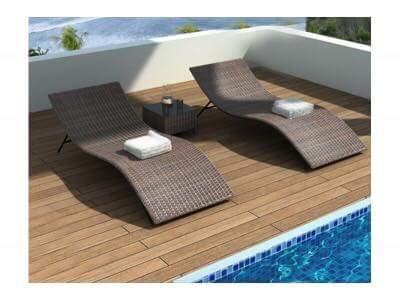 Giường bể bơi được thiết kế độc đáo