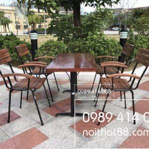 Ban Ghe Cafe Ngoai Troi Tai Hai Phong 2