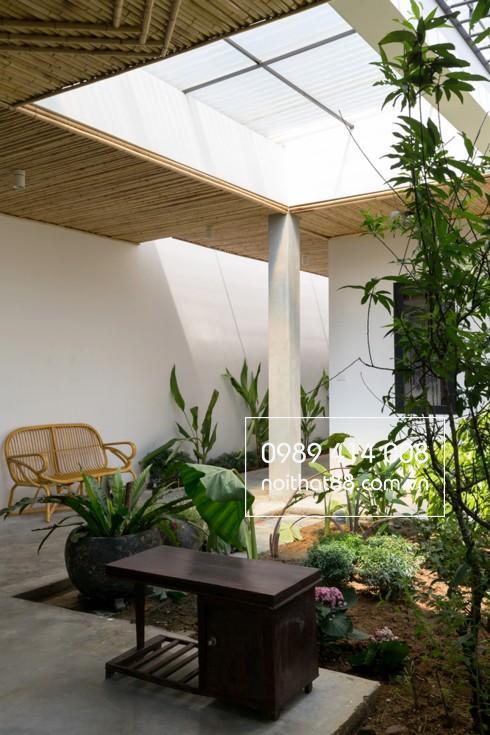 Góc yên bình trong ngôi nhà ở ngoại ô Hà Nội