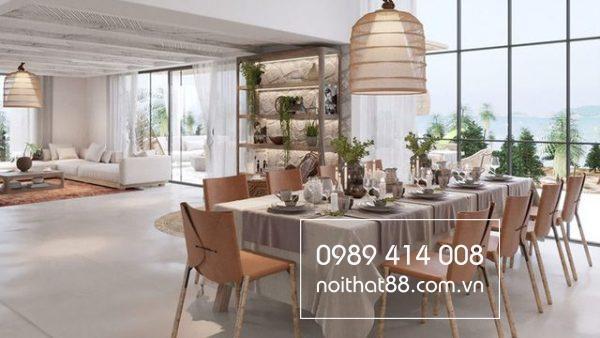 Phòng ăn có vai trò quan trọng trong kiến trúc nhà