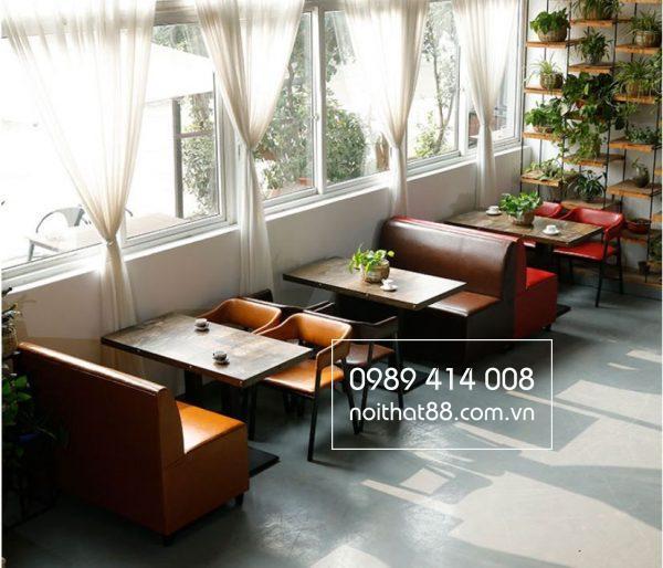 Sofa mây nhựa phù hợp với mọi không gian quán