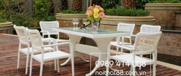 Bàn ghế sân vườn tại Nội thất 88